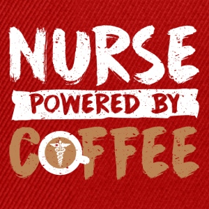 Nurse supported by coffee spells - Snapback Cap