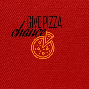 Give this pizza a chance - Snapback Cap