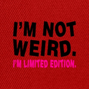I´M NOT WEIRD - Snapback Cap