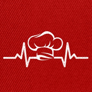 My heart beats for cooking - Snapback Cap