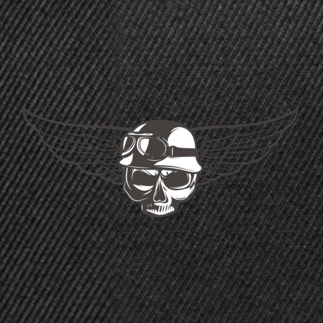 Biker skull