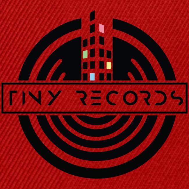 Tiny Record - Black Logo
