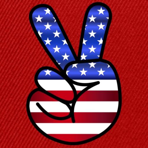 Amerikan Peace Cap   Design Paradise - Snapback Cap