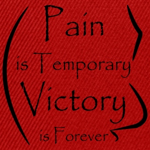 Banner Design Pain Victory - Snapback Cap