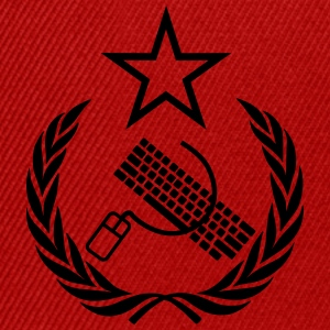 The keyboard and mouse Communist - Geek Flag - Snapback Cap