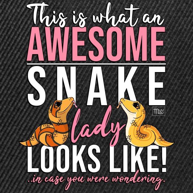 Awesome Snake Lady I