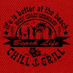 Chill Grill West Coast - Snapback cap