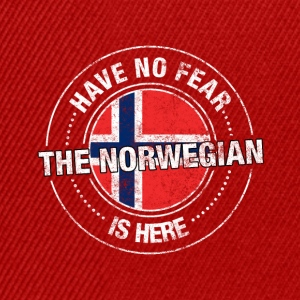 Have No Fear The Norwegian Is Here Shirt - Snapback Cap