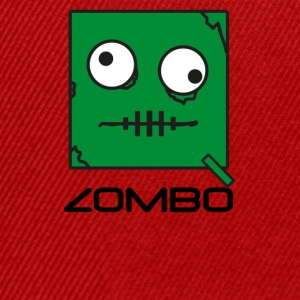 Zombie 'Zombo' Monster | Qbik Design Series - Snapback-caps