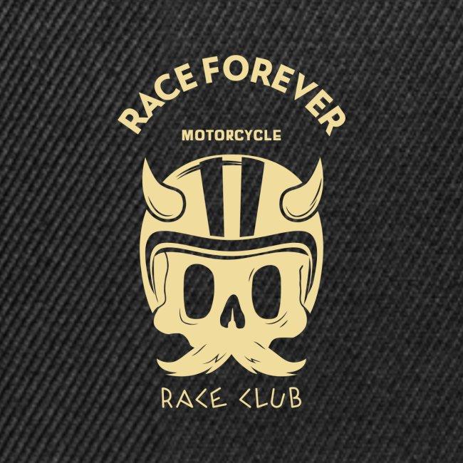 bikers racing club t shirt design template featuri