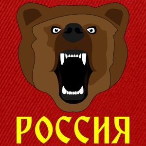 Russian Bear / Russia / Россия / Медвед - Snapback Cap