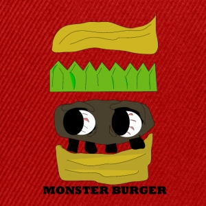 MONSTER BURGER - Snapback Cap
