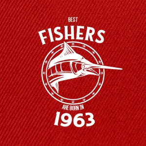 Present for fishers born in 1963 - Snapback Cap