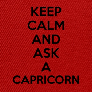 Capricorn Keep Calm - Snapback Cap