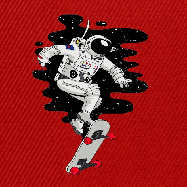 skate on the moon