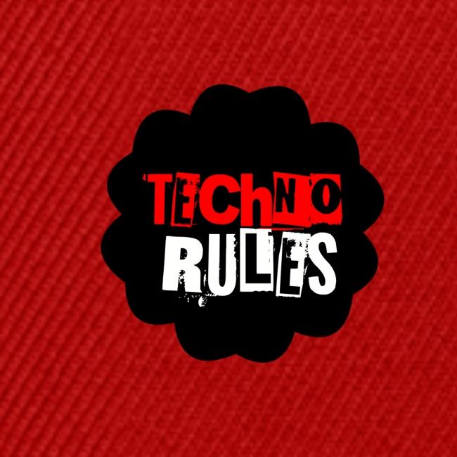 TECHNO rules black by olazland
