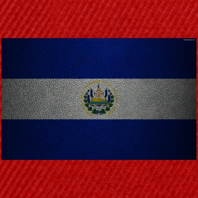 thumb2 flag of el salvador 4k leather texture nort