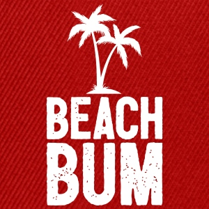 Beach Bum Design Cool Summer - Casquette snapback