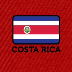 National Flag Of Costa Rica - Snapback Cap