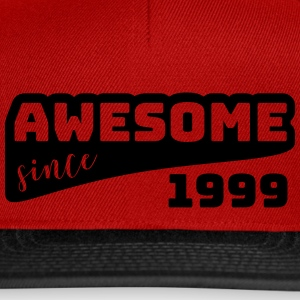 Awesome since 1999 / Birthday-Shirt - Snapback Cap