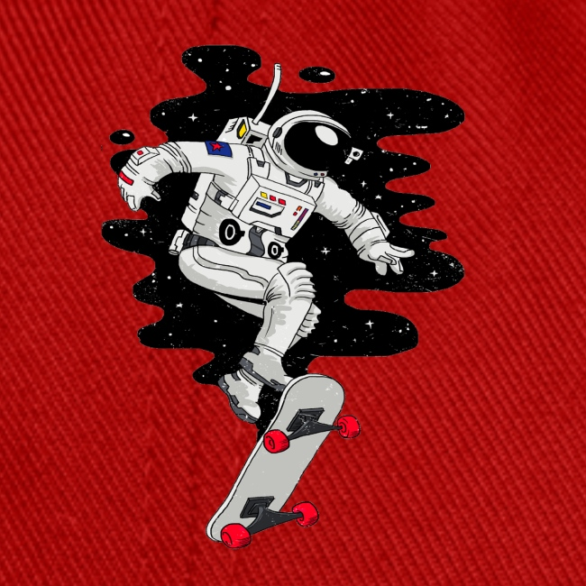 skate on the moon