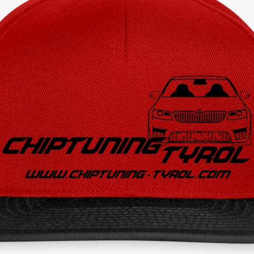 Chiptuning-Tyrol.com Logo 2x S - Snapback Cap