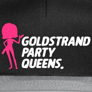 Queens party Gold Beach - Casquette snapback