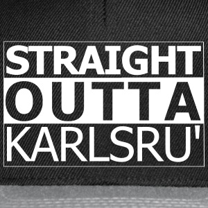 karlsruhe outta droite - Casquette snapback