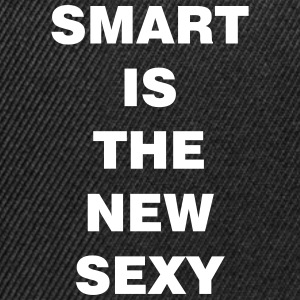 smart is the new sexy - Snapback Cap