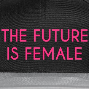 future is female - Snapback Cap