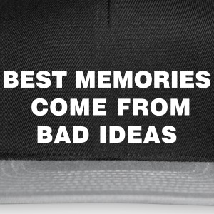 Bad Ideas - Snapback Cap