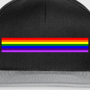 Band rainbow / Regenbogen-Band - Snapback Cap