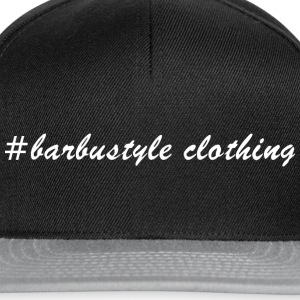 #barbustyle white - Snapback Cap