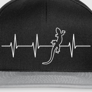 My heart beats for reptiles - Snapback Cap