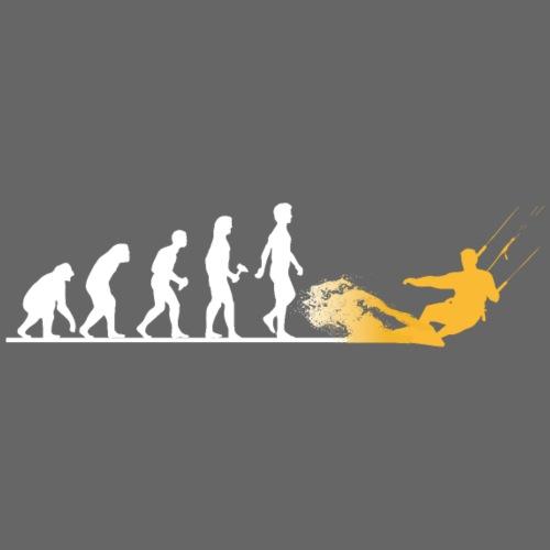 Die Evolution zum Kitesurfer - Snapback Cap