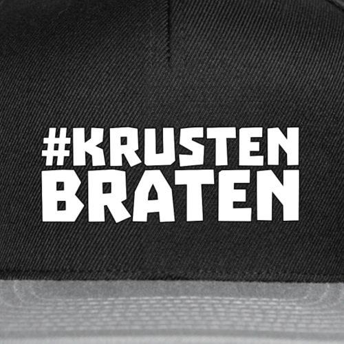 Krustenbraten4 png - Snapback Cap