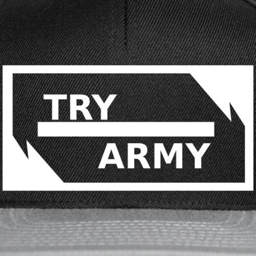 TryArmy_Kappie_white - Snapback Cap