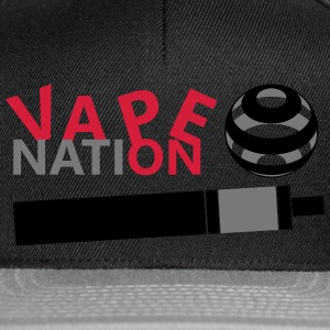 Vape On - vape Nation - Casquette snapback