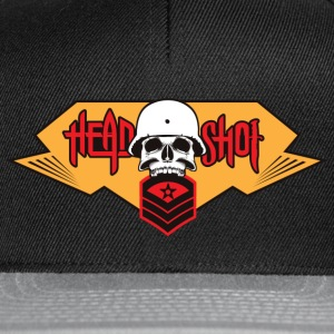 Skull / ROCK AND ROLL / HEAVY METAL - Snapback-caps