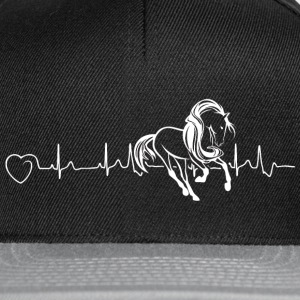 Horses are my heartbeat - Snapback Cap
