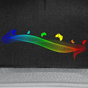 Gamepad Spectrum by JuiceMan Benji - Snapback Cap