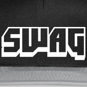 SWAG Transparant Wit - Snapback cap
