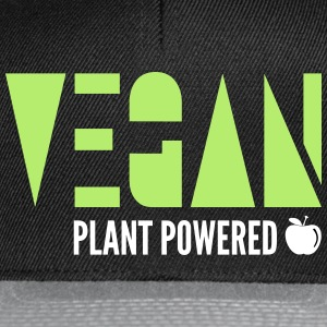 Vegan - Plant Powered - Snapback Cap
