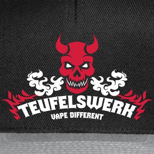 Teufelswerk - Vape Different - Snapback Cap