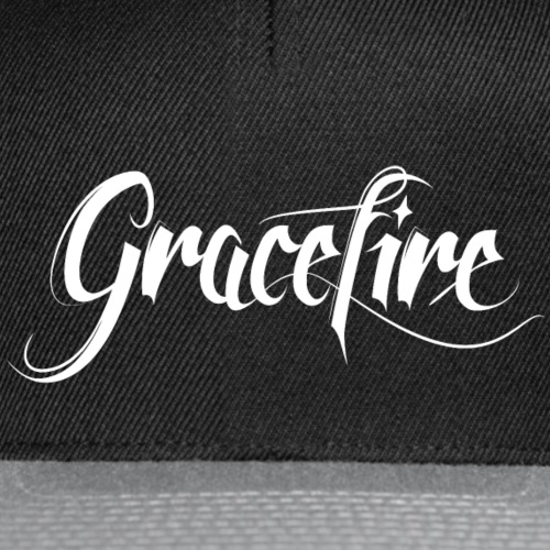 Gracefire Logo white - Snapback Cap
