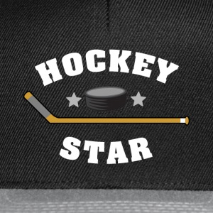 Hockey Star - Snapback Cap