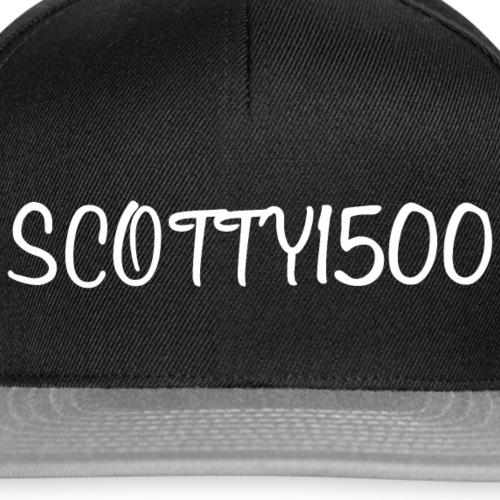 Scotty1500 Hat (Black) - Snapback Cap