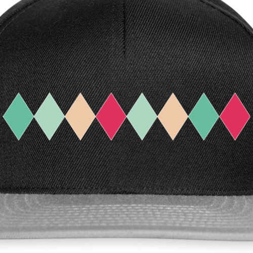 harlekin in line - Snapback Cap