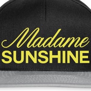 Mrs. sunshine - Snapback Cap