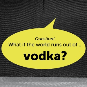 Vodka - Snapback cap